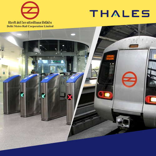 Thales delivers AFC systems in Delhi Metro